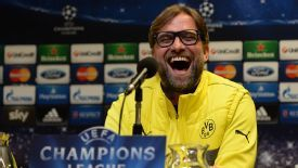 Juergen Klopp remains upbeat despite Dortmund's three successive defeats.