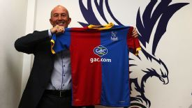 Tony Pulis is excited about the challenge ahead at Crystal Palace.