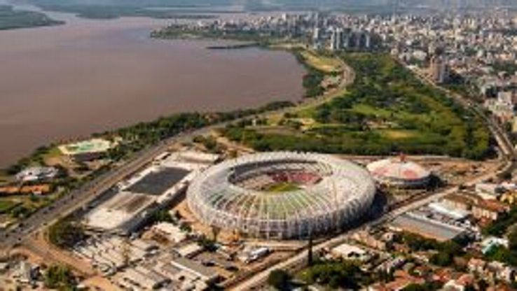 The Estadio Beira-Rio, in Porto Alegre, will have a capacity of 48,849.