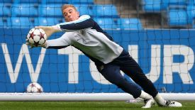 Joe Hart has fallen out of favour under Manuel Pellegrini.
