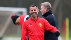 Ryan Giggs is hoping to claim a 14th league title this season.