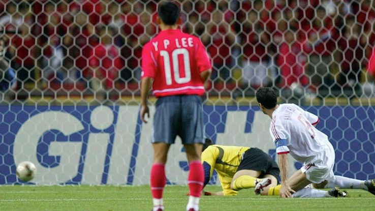 Hakan Sukur took a matter of seconds to put Turkey ahead of South Korea at the 2002 World Cup.