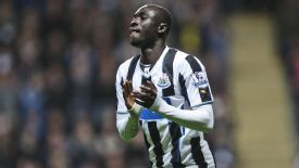 Papiss Cisse is yet to score in the Premier League this season.