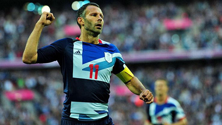 Ryan Giggs finally got to play in a major tournament when captaining Great Britain at the London Olympics in 2012.