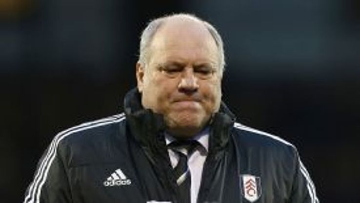 Martin Jol is under pressure after Fulham's poor start to the season.