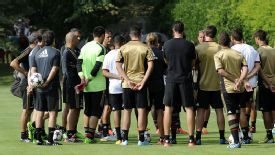 Milan have closed ranks after information leaked out of Milanello.
