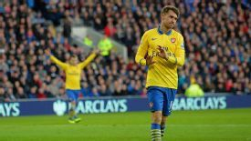 Aaron Ramsey showed his former club respect by not celebrating at Cardiff.