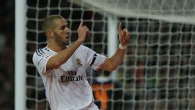 Karim Benzema doubled Real Madrid's lead thanks to Gareth Bale's assist.