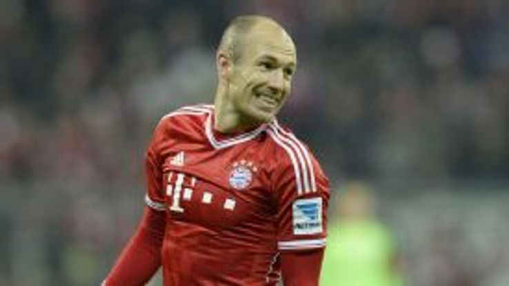 Arjen Robben has been in inspirational form for Bayern this season.