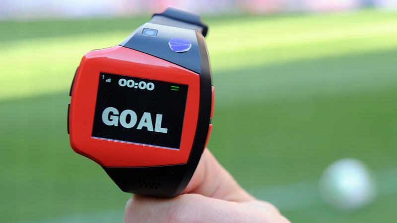 FIFA has already approved the use of goal-line technology for the World Cup.