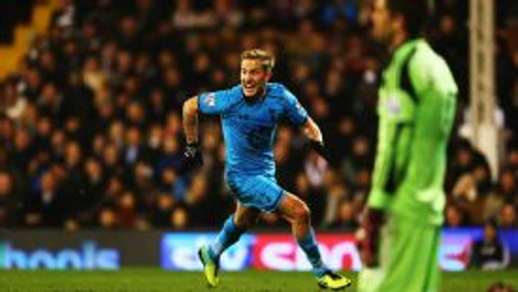 Lewis Holtby was Tottenham's match-winner at Craven Cottage.