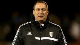 Rene Meulensteen tasted defeat in his first match as Fulham manager.