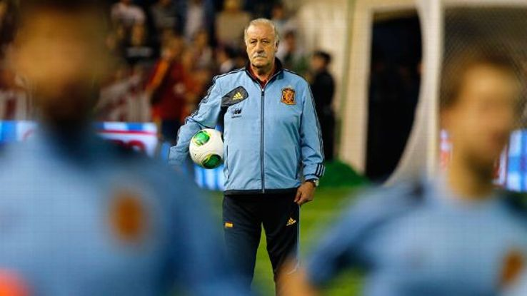Vincente del Bosque looks likely to camp in Curitiba.