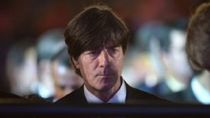 Germany boss Joachim Loew watches on during the World Cup draw in Costa Do Sauipe.