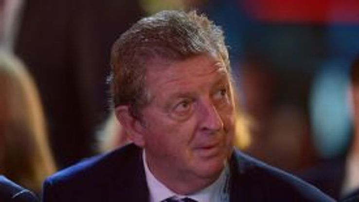 England boss Roy Hodgson attends the World Cup draw.
