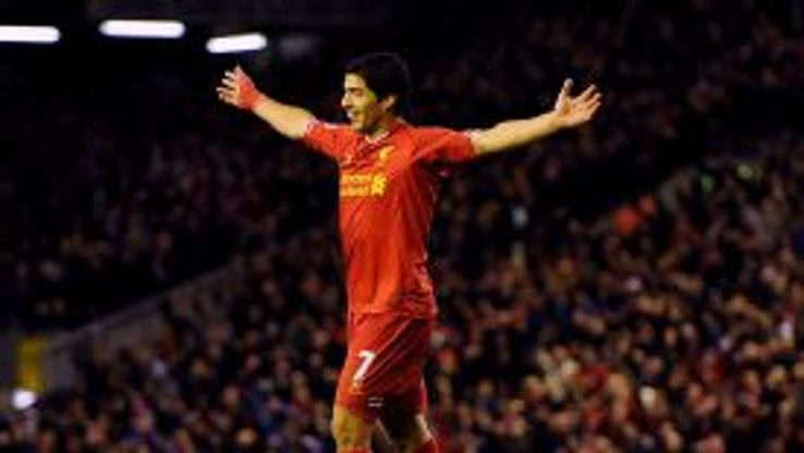 Luis Suarez scored again for Liverpool as they saw off West Ham.