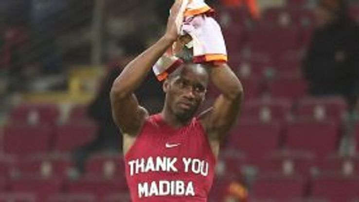 Didier Drogba reveals a tribute message to the late Nelson Mandela.