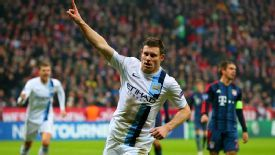 James Milner alternative celeb Bayern Munich vs. manchester City
