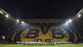 Dortmund's home stadium Westfalenstadion is famous for its atmosphere.