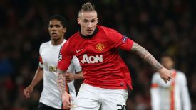 Alexander Buttner featured for Manchester United in the victory over Shakhtar Donetsk.