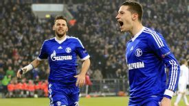 Julian Draxler edged Schalke in front at home to Swiss side Basel.