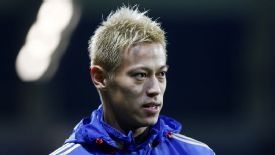 Keisuke Honda had been keen to join Milan in the summer.