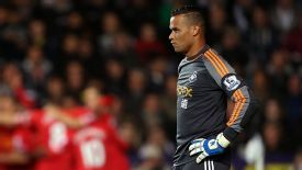 Vorm won the Capital One Cup with Swansea last season.