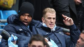 English players such as Joleon Lescott and Joe Hart have been marginalised at Man City.