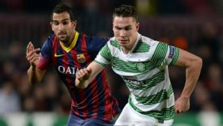 MArtin Montoya Barcelona vs. Celtic