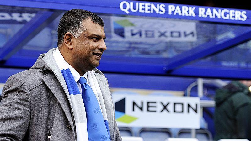 Tony Fernandes, QPR dugout