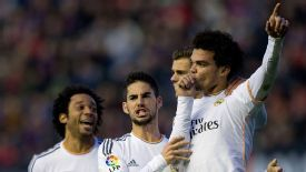 Pepe equalised for Real Madrid in the 80th minute at Osasuna.