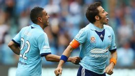 Alessandro Del Piero scored in the 43rd minute against Melbourne Heart.