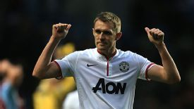 Darren Fletcher made his first Manchester United appearance since Boxing Day last year.