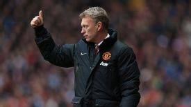 David Moyes gives his approval as United make a strong start against Villa.