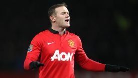 Wayne Rooney was selected to make his 500th club appearance against Aston Villa.
