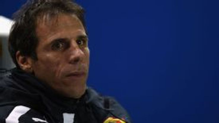 Gianfranco Zola's familiar smile had been absent in recent weeks as Watford plummeted down the Championship table.