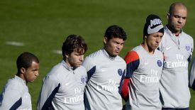 Thiago Silva and Marquinhos are among a strong Brazilian contingent at PSG.