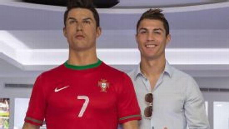 Ronaldo waxwork