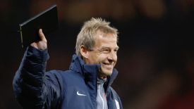 Jurgen Klinsmann only recently signed a new contract with the USMNT.
