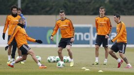 Gareth Bale sustained the injury during a training session.