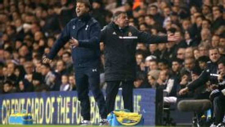 It was a different manager, same sense of frustration for Tottenham.