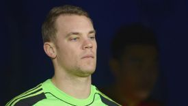 Manuel Neuer was one of the Bayern players unimpressed by the use of vanishing spray at the Club World Cup.