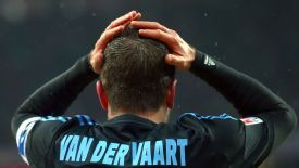 Rafael van der Vaart is confident Hamburg when the Bundesliga resumes after the winter break.