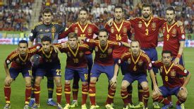 Spain qualified for next year's World Cup finals with ease.