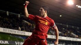 Luis Suarez has been in stunning form for Liverpool this season.