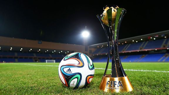 The Club World Cup trophy.