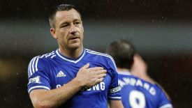 John Terry was happy with Chelsea's draw against Arsenal.