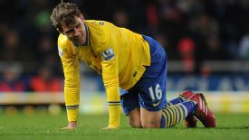 Aaron Ramsey came off after 64 minutes aganst West Ham