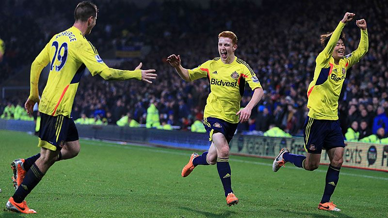 Jack Colback scored in the 95th minute to earn Sunderland a 2-2 draw at Cardiff City.