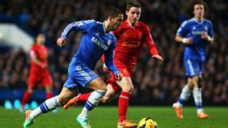 Eden Hazard is Chelsea's top scorer in the 2013-14 campaign.